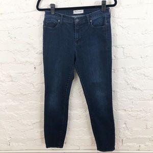 Madewell High Rise Straight Leg Jeans